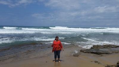 beach wading