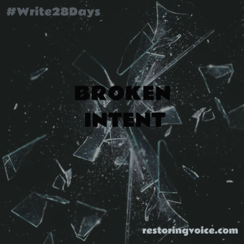 Broken Intent