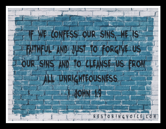 Confess our sins